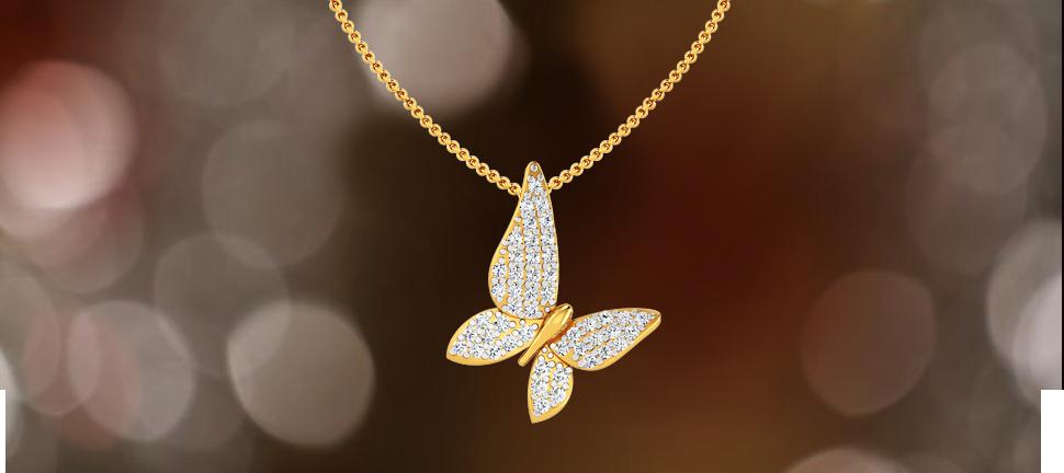 Diamond pendant by motisons