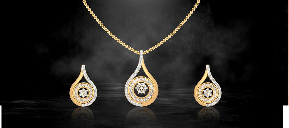 office wear pendant set by motisons