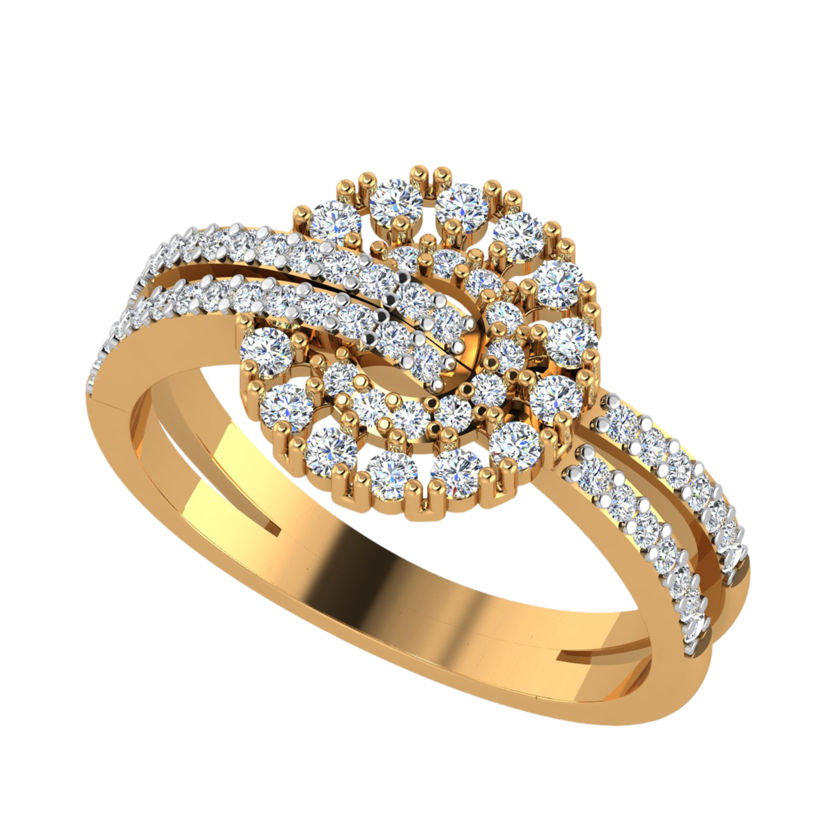 The Glow Flow Diamond Ring