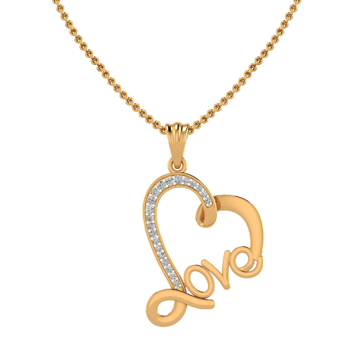 The Sweet Love Diamond Pendant