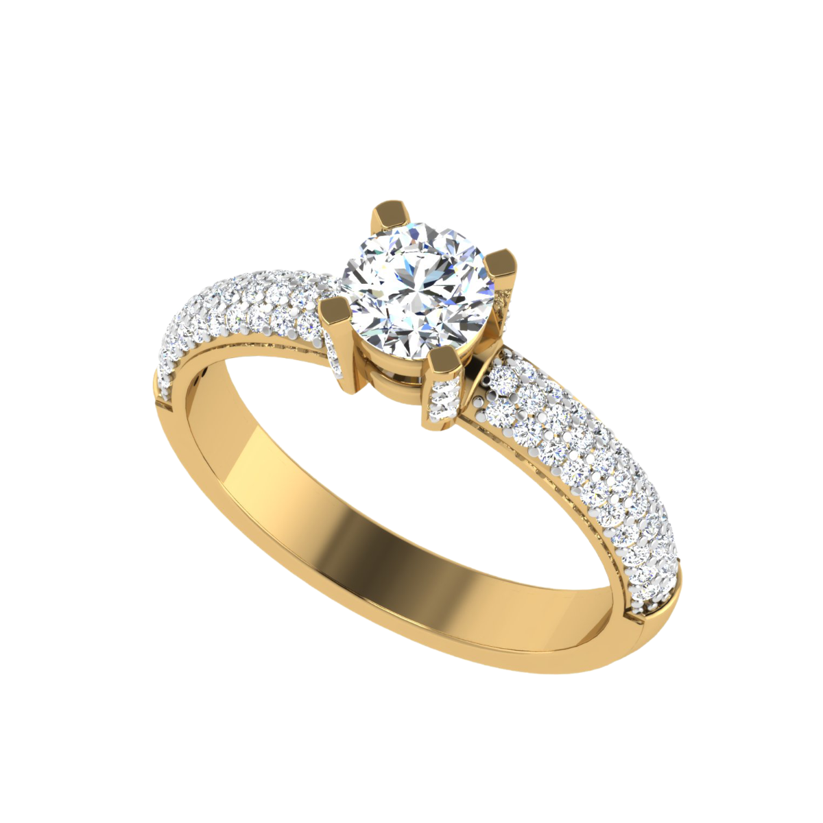 The Stunning Solitaire Diamond Ring