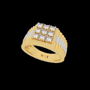 The Sancho Men`s Nine Diamond Ring