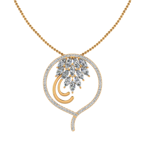 The Peacock Diamond Pendant