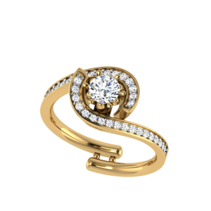 The INEFFABLE Solitaire Diamond Ring