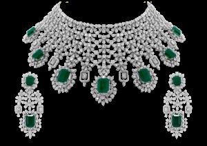 Eve Emerald & Diamond Necklace