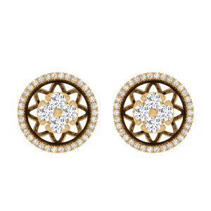 Style Is A Way Diamond Stud Earrings