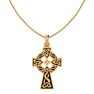 The Irish Celtic Diamond Pendant