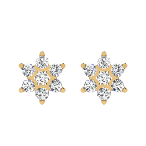 Show Me The Stars Diamond Stud Earrings