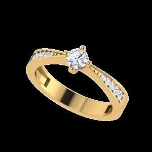 El Solitario Clásico Solitaire Ring