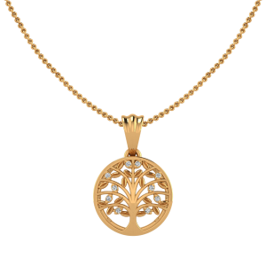 The Tree Of Life Diamond Pendant