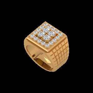 The Mighty Men's Diamond Ring
