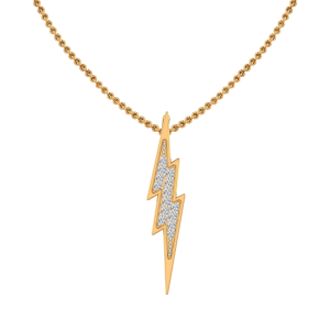 The Lightning Diamond Pendan