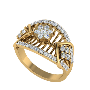 The Divine Creation Designer Diamond Ring