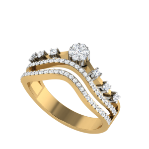 The Moments of Existence Designer Diamond Ring