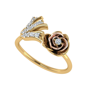 Floral Fantasy Diamond Ring