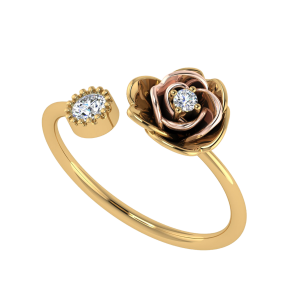 Floral Bouquet Diamond Ring