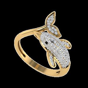 The World Is Your Runway Designer Diamond Ring