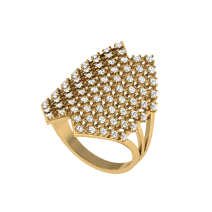 Diamond Delicacy Designer Ring