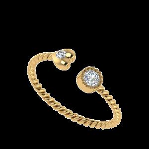 Because Of You Designer Diamond Ring