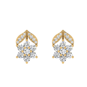 The Gardening Diamond Stud Earrings