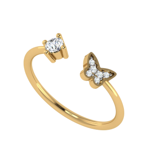 Let the Miracle Happen Diamond Ring
