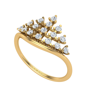 Beautiful Is Bizarre Diamond Ring