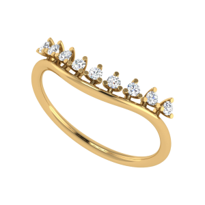 Stars In Line Diamond Ring