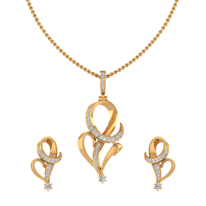 The Lovely Swirl Pendant Set