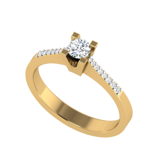 Divinely Assigned Solitaire Diamond Ring