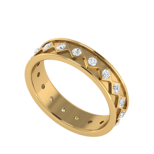 The Persistence Eternity Diamond Band Ring
