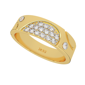 The Contemporary Art Designer Diamond Ring