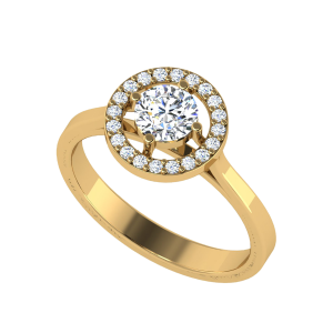 Invent The Soul Solitaire Diamond Ring