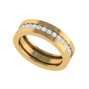 Hold Onto Each Other Eternity Diamond Band Ring