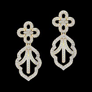 The Outlines Diamond Stud Earrings
