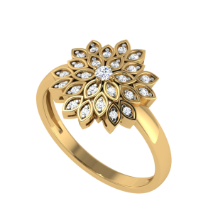 The Floral Privilege Designer Diamond Ring