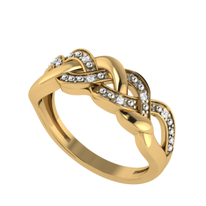 Hello! Style Designer Diamond Ring