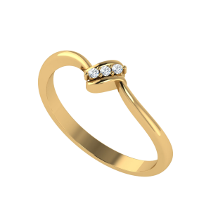 A Point Of View Diamond Ring