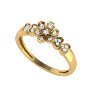 Flower By Heart Designer Diamond Ring