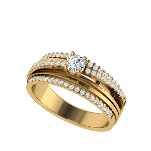 Wear Your Crown Designer Diamond Ring