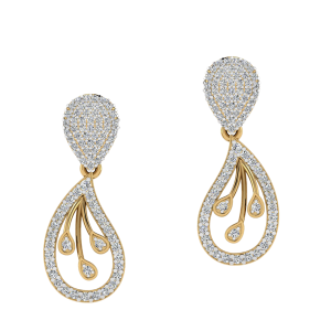 The Rains Forever Diamond Stud Earrings