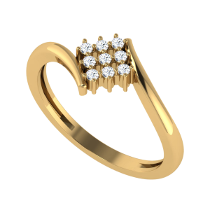 The Nine Lives Diamond Ring