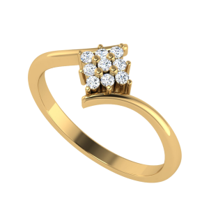 Nine To Five Fashion Diamond Ring