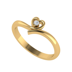 The Eternal Heart Diamond Ring