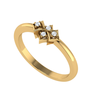 The Art In Shape Diamond Ring