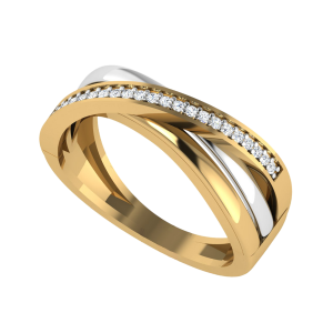 The Right Direction Diamond Ring