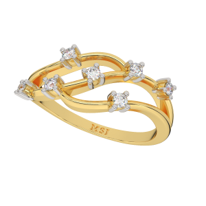 It Will Rain Stars Diamond Ring