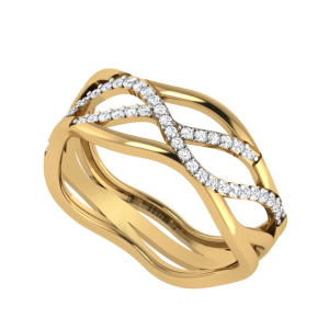 Waves Of Happiness Diamond Ring