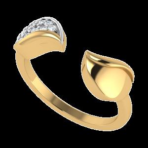 Nurture The Nature Leaf Diamond Ring