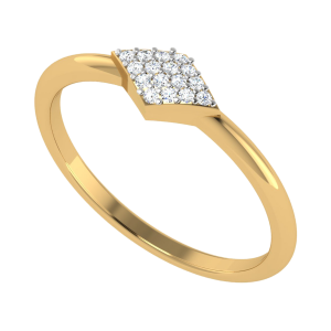 The Asterism Fashion Diamond Ring
