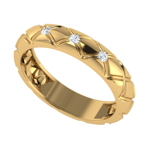 The Zig Zag Life Diamond Ring